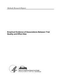 Empirical Evidence of Associations Betwe... by Agency for Healthcare Research and Quality US