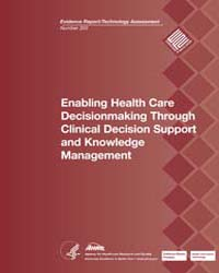 Enabling Health Care Decisionmaking Thro... by Agency for Healthcare Research and Quality US