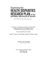 Examining the Health Disparities Researc... by Thomson, Gerald, E