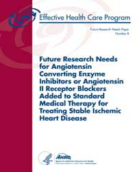 Future Research Needs for Angiotensin Co... by Powers, Bj