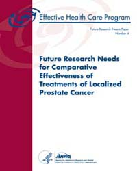 Future Research Needs for Comparative Ef... by Bm, Rothenberg