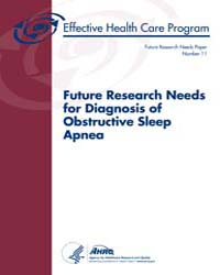 Future Research Needs for Diagnosis of O... by Em, Balk