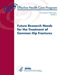 Future Research Needs for the Treatment ... by M, Butler