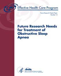 Future Research Needs for Treatment of O... by Em, Balk