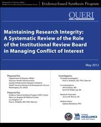 Maintaining Research Integrity: a System... by Pg, Shekelle