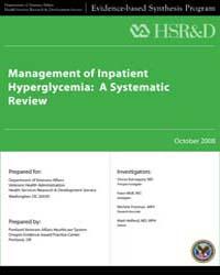 Management of Inpatient Hyperglycemia: a... by D, Kansagara