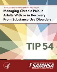 Managing Chronic Pain in Adults with or ... by Substance Abuse and Mental Health Services Adminis...