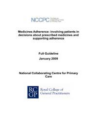 Medicines Adherence : Involumeving Patie... by National Collaborating Centre for Primary Care Uk