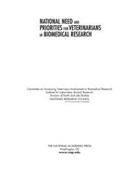 National Need and Priorities for Veterin... by National Academies Press US