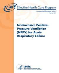 Noninvasive Positive-pressure Ventilatio... by Jw, Williams