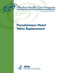 Percutaneous Heart Valve Replacement by Agency for Healthcare Research and Quality