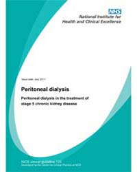 Peritoneal Dialysis : Peritoneal Dialysi... by National Institute for Health and Clinical Excelle...
