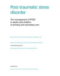 Post-traumatic Stress Disorder : the Man... by National Academies Press US