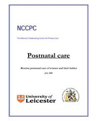 Postnatal Care : Routine Postnatal Care ... by National Academies Press US