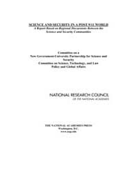 Science and Security in a Post 9/11 Worl... by National Academies Press US