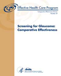 Screening for Glaucoma : Comparative Eff... by Agency for Healthcare Research and Quality