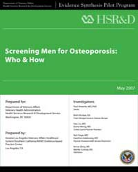 Screening Men for Osteoporosis: Who & Ho... by Agency for Healthcare Research and Quality