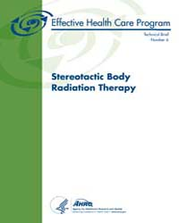 Stereotactic Body Radiation Therapy by Agency for Healthcare Research and Quality