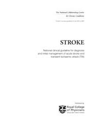 Stroke : National Clinical Guideline for... by Royal College of Physicians Uk