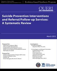 Suicide Prevention Interventions and Ref... by Department of Veterans Affairs
