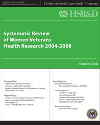 Systematic Review of Women Veterans Heal... by Department of Veterans Affairs