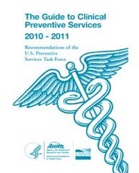 The Guide to Clinical Preventive Service... by Agency for Healthcare Research and Quality