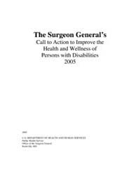 The Surgeon General's Call to Action to ... by Office of the Surgeon General US