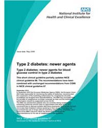 Type 2 Diabetes : Newer Agents for Blood... by National Collaborating Centre for Women's and Chil...