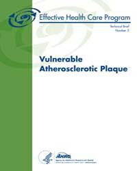 Vulnerable Atherosclerotic Plaque by Agency for Healthcare Research and Quality