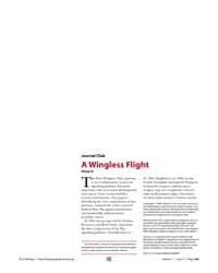 Plos Biology : a Wingless Flight, Volume... by Yu, Xiang