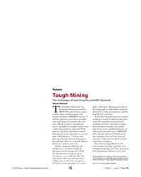 Plos Biology : Tough Mining, Volume 1 by Dickman, Steven