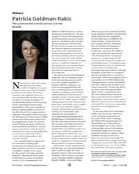 Plos Biology : Patricia Goldman-rakic, V... by Levitt, Pat