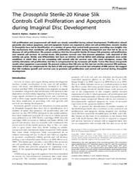 Plos Biology : the Drosophila Sterile-20... by Scott, Matthew P.
