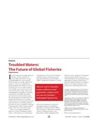 Plos Biology : Troubled Waters ; the Fut... by Gewin, Virginia