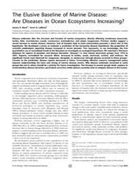 Plos Biology : the Elusive Baseline of M... by Crowder, Larry