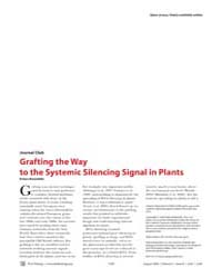 Plos Biology : Grafting the Way to the S... by Kalantidis, Kriton