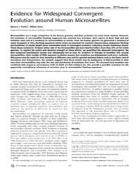 Plos Biology : Evidence for Widespread C... by Penny, David