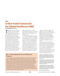 Plos Biology : a New Trade Framework for... by Hubbard, Tim
