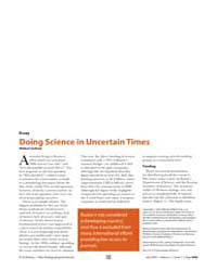 Plos Biology : Doing Science in Uncertai... by Gelfand, Mikhail