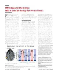 Plos Biology : Fmri Beyond the Clinic ; ... by Robinson, Richard