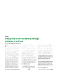 Plos Biology : Integrin Bidirectional Si... by Qin, Jun