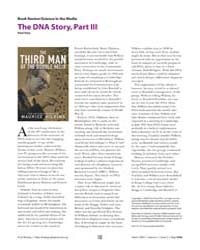 Plos Biology : the Dna Story, Part Iii, ... by Doty, Paul