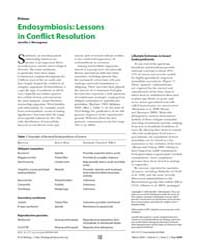 Plos Biology : Endosymbiosis ; Lessons i... by Wernegreen, Jennifer J.