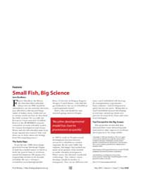 Plos Biology : Small Fish, Big Science, ... by Bradbury, Jane