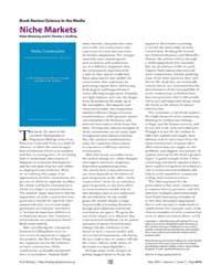 Plos Biology : Niche Markets, Volume 2 by Manning, Peter