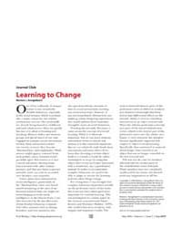 Plos Biology : Learning to Change, Volum... by Kringelbach, Morten L.