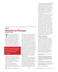 Plos Biology : Nicotine as Therapy, Volu... by Powledge, Tabitha M.