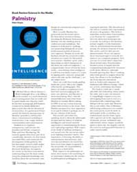 Plos Biology : Palmistry, Volume 2 by Dayan, Peter