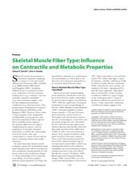 Plos Biology : Skeletal Muscle Fiber Typ... by Zierath, Juleen R.