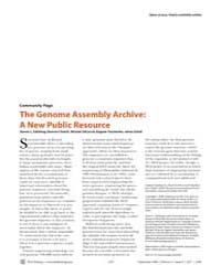 Plos Biology : the Genome Assembly Archi... by Salzberg, Steven L.